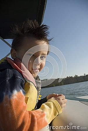 Boat Ride Boy