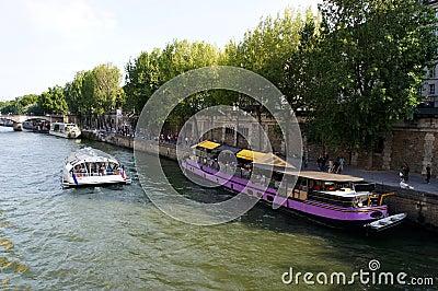 Boat at river
