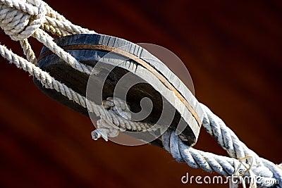 Boat rope tie