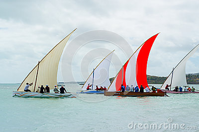 Boat sail regatta competition Editorial Photo