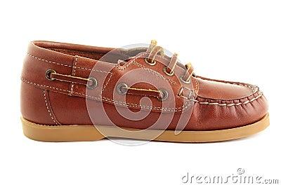 Boat shoe.