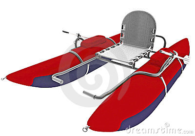 Boat with single seat