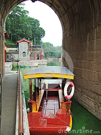 A Boat in the Summer Palace