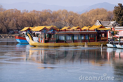 Boat in The Summer Palace