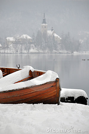 Boat in Winter