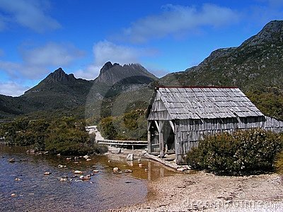 Boathouse, Dove Lake, Cradle Mountain