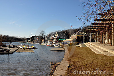 Boathouse Row, Fairmount Park, Philadelphia