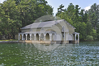 Boathouse in the Thousand Islands America