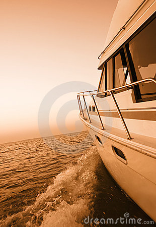 Free Boating At Sunset Royalty Free Stock Photo - 10309705