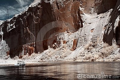 Boating On The Colorado River