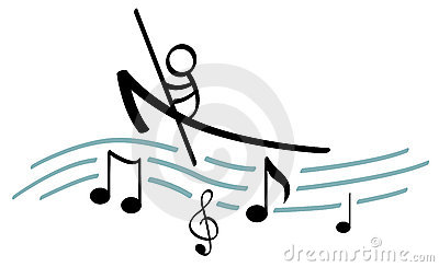 Boating on music