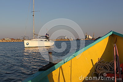 Boats Editorial Stock Image
