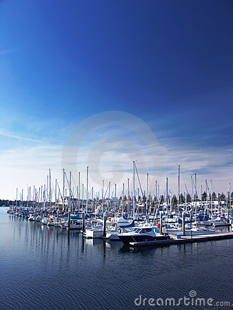 Free Boats At Marina Royalty Free Stock Image - 1613716