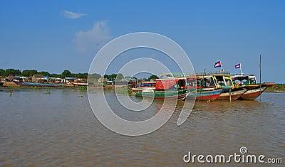 Boats of Cambodia