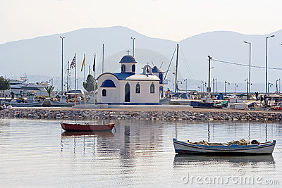 Boats and Church