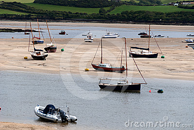 Boats in Cornwall