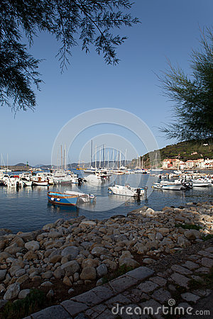Boats At Dusk, Marciana Marina, Elba Island