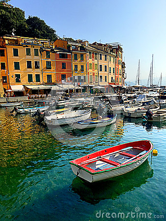 Free Boats In The Colorful Harbor Of Monterosso Al Mare In Cinque Terre Royalty Free Stock Photography - 94642677