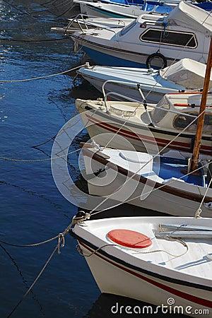Boats at moorage