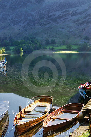 Free Boats On Lake Ullswater Royalty Free Stock Photography - 9695617