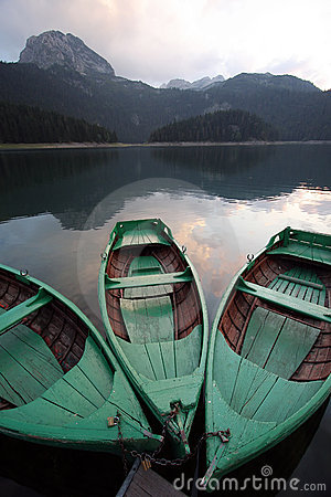 Free Boats On The Lake Stock Photography - 21521712