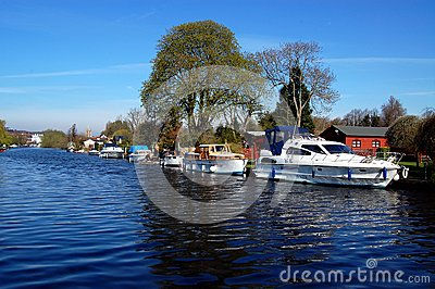 Boats On The River, Henley-on-Thames