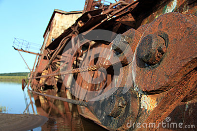 Boats rusting bolts