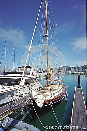 Boats at Sausalito Harbor CA
