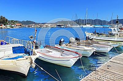 Boats and yachts, near Kekova island