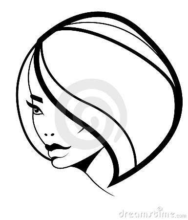 Bob hairstyle icon, woman model with volume hair