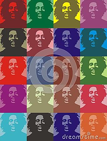 Free Bob Marley Portraits Royalty Free Stock Photography - 7422737