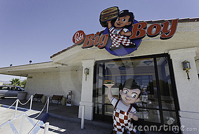 Bob s Big Boy Editorial Photography