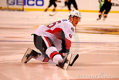 Bobby Butler Ottawa Senators Editorial Stock Photo