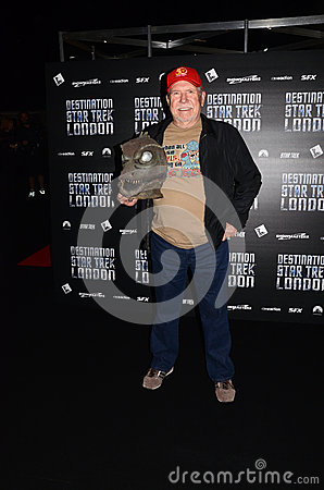 Bobby Clark At Destination Star Trek In  London Docklands 19th O Editorial Photo