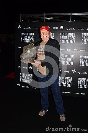 Bobby Clark At Destination Star Trek In  London Docklands 19th O Editorial Stock Image