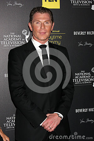 Bobby Flay arrives at the 2012 Daytime Emmy Awards Editorial Stock Photo