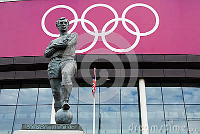 Bobby Moore Statue Editorial Stock Image