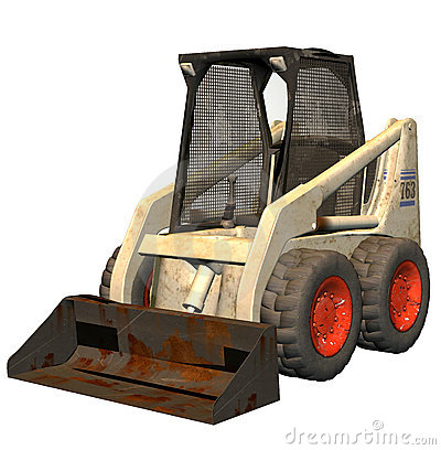 Free Bobcat Bulldozer Royalty Free Stock Photo - 2715135