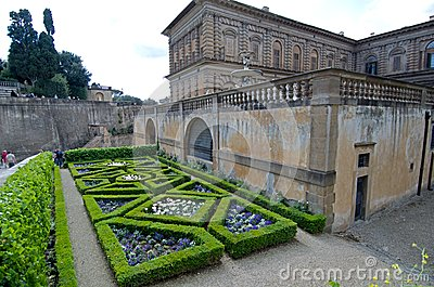Boboli gardens Editorial Stock Image