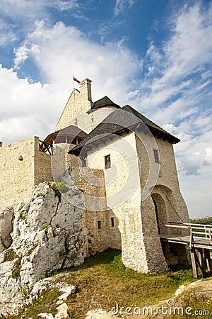 Bobolice castle. Polnad, Silesia.