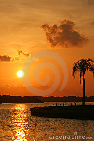 Boca Ciega Bay Sunrise