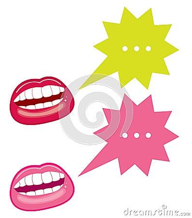 Bocas e bolhas do discurso