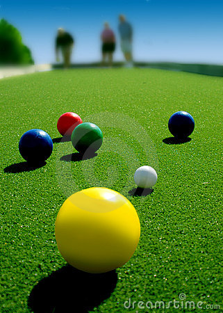 Free Bocce Balls. Royalty Free Stock Photography - 8429707