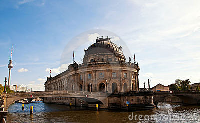 Bode museum in Berlin Editorial Photo