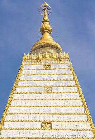 Bodhgaya-style stupa in Thailand