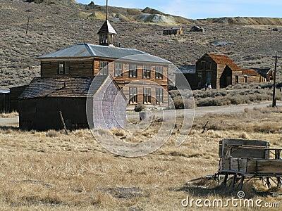 Bodie California scene