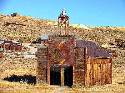 Bodie fire station