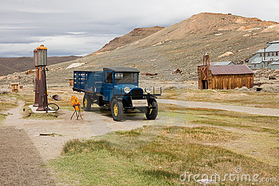 Bodie the Ghost Town Editorial Photo