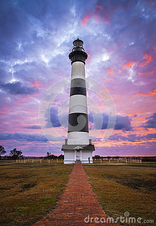 Bodie Island Lighthouse Cape Hatteras National Seashore Outer Banks NC