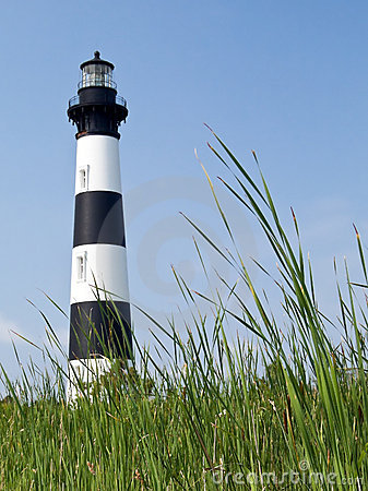 Free Bodie Island Lighthouse, Outer Banks, Carolina Stock Photography - 10671712